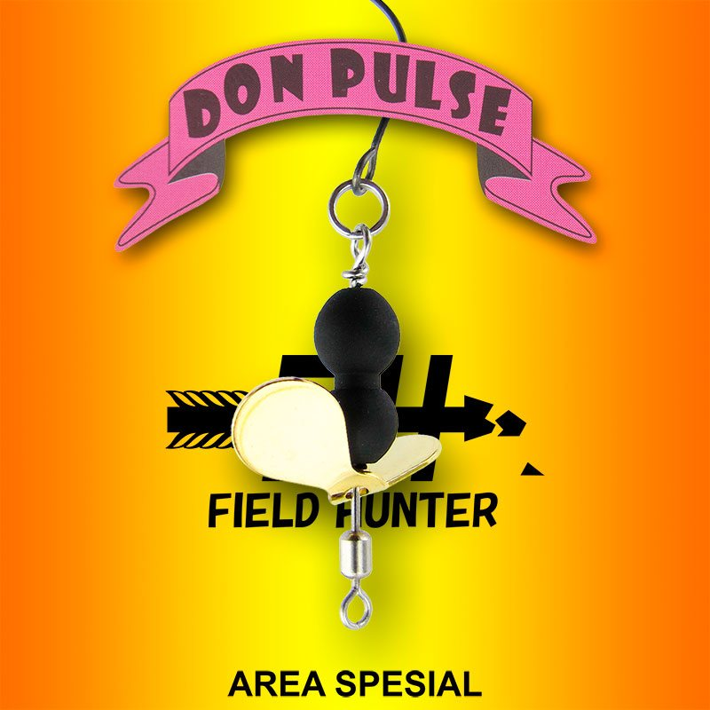 Вертушка Field Hunter Don Pulse (area) : 1,5гр, 2,5гр.