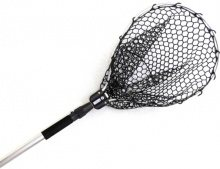Подсачик складной Kahara Rubber landing net telescopic type