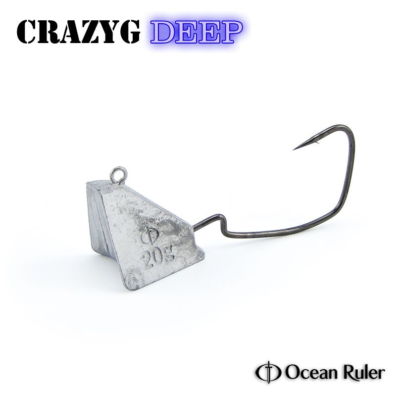 Джиг-головки Ocean Ruler Crazyg Jig Deep