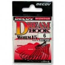 Worm15  Dream Hook  #6  (9) Офсетник. DECOY
