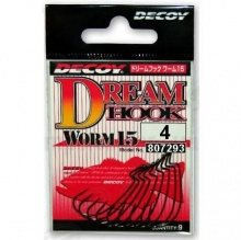 Worm15  Dream Hook  #4  (9) Офсетник. DECOY