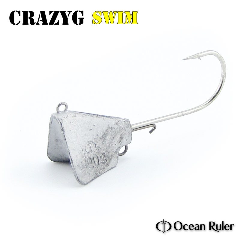 Джиг-головки Ocean Ruler Crazyg Jig Swim