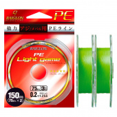 Плетёный шнур Raiglon Pe Light Game 4x 150 (75м x2)