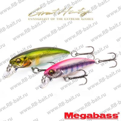 Воблер Megabass Great Hunting Worldspec 48F